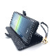 Xperia 5 II 手帳型ケース+ハンドストラップ ブラック 5884XP52BO