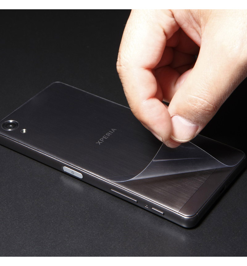 Protection 3D film for Xperia X Performance 背面立体保護フィルム クリア DF-XXPG1B