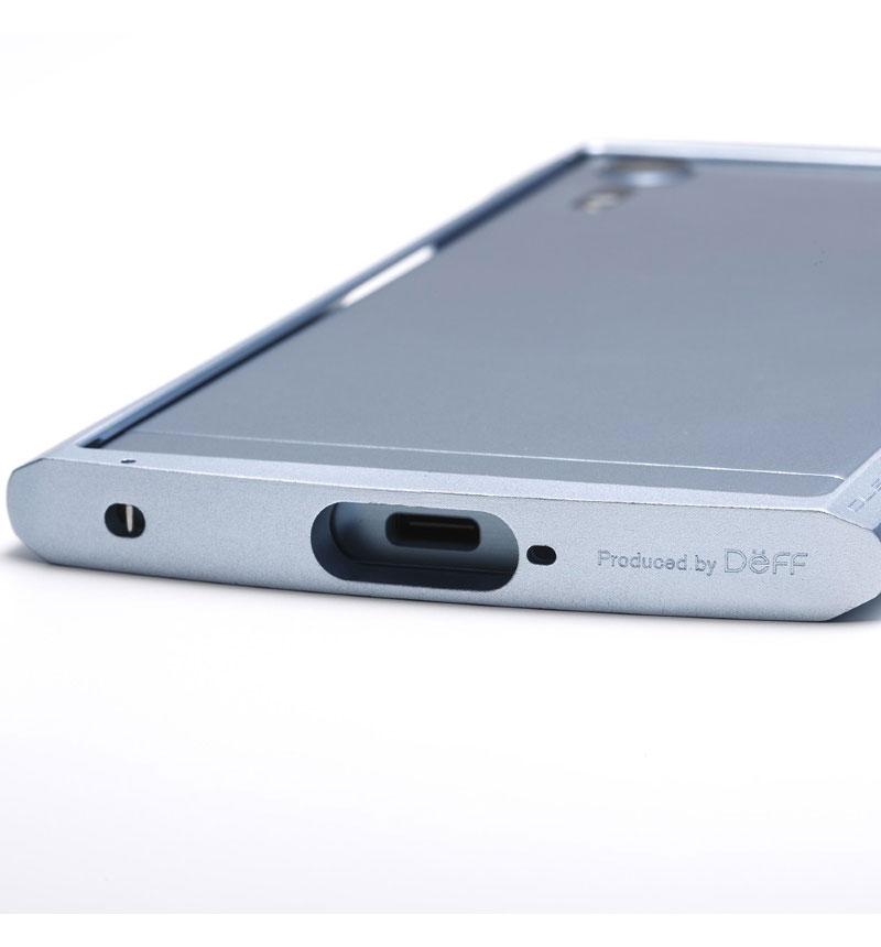 CLEAVE Aluminum Bumper Chrono for Xperia XZs アイスブルー DCB-XZSCHABU