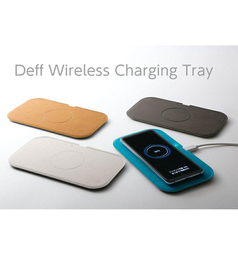 Wireless Charging Tray キャメルブラウン WBC-WL-15WCA