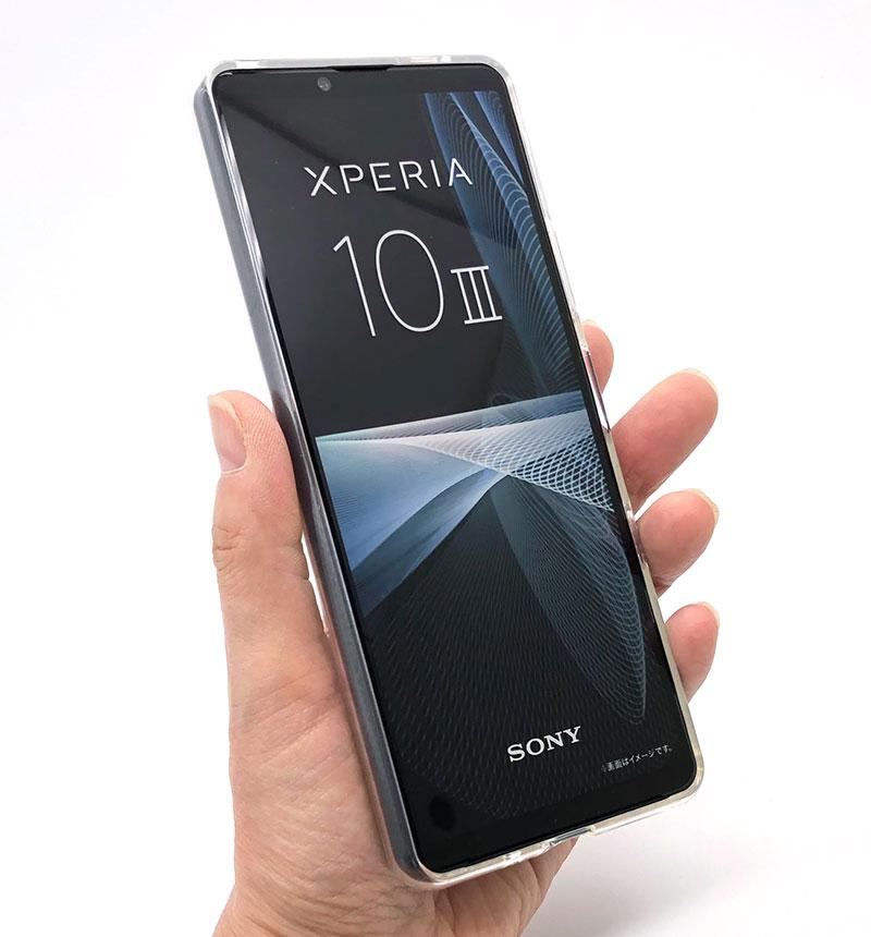 ROXFIT ソフトケース Xperia 10 III/Xperia 10 III Lite ウェービーシルバー 77-83400