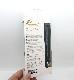 Xperia 1 手帳型レザーケース 花柄 ハンドストラップ付 ブラック IN-RXP1EVC1/B