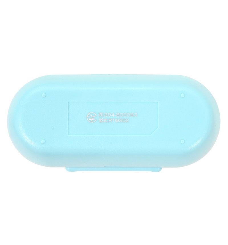 Bluetooth5.0 完全ワイヤレスイヤホンマイク カナル スイッチ付 SB スカイブルー RTWS02SB
