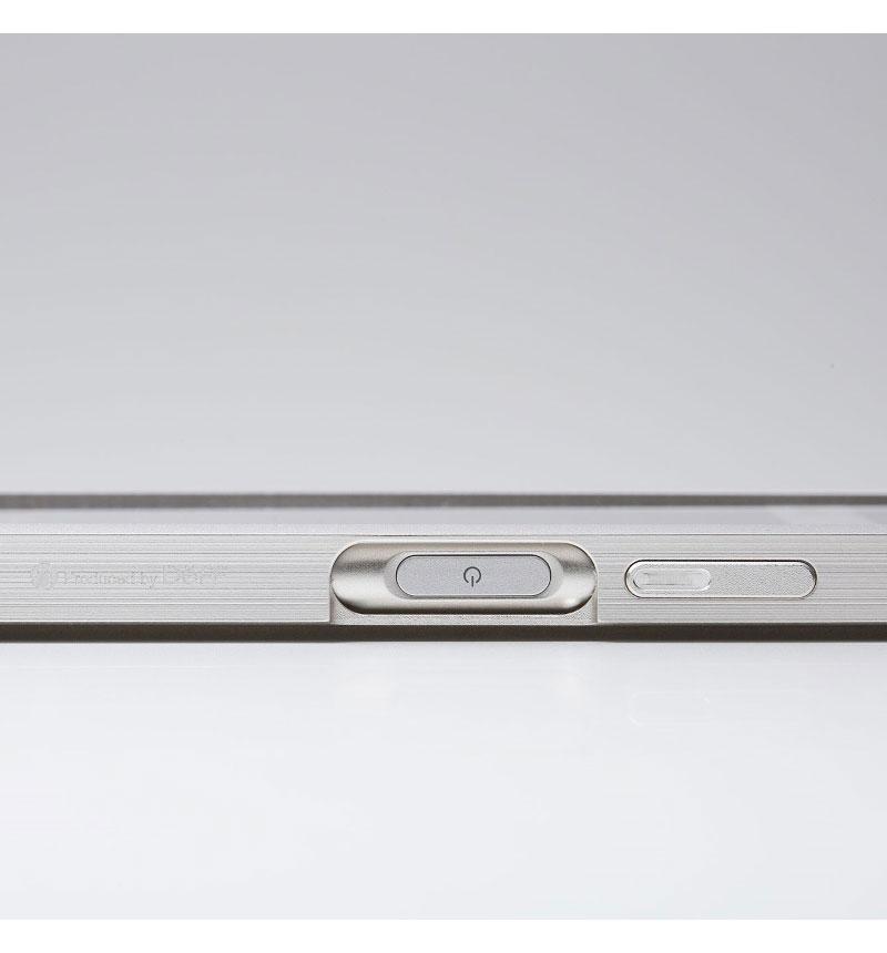 Cleave Aluminum Bumper Chrono for Xperia XZ1 ブラック DCB-XZ1CHABK