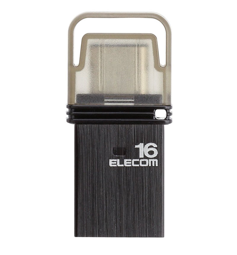 USB Type-Cメモリ(ブラック) ブラック/容量16GB MF-CAU3116GBK