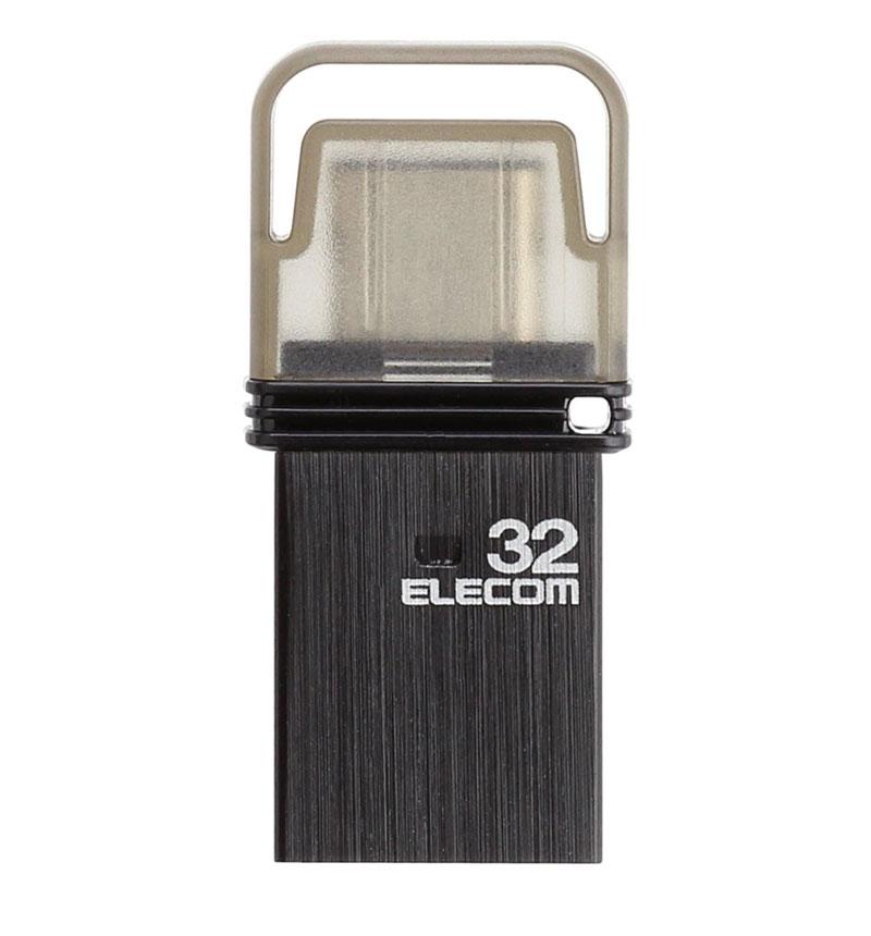 USB Type-Cメモリ(ブラック) ブラック/容量32GB MF-CAU3132GBK
