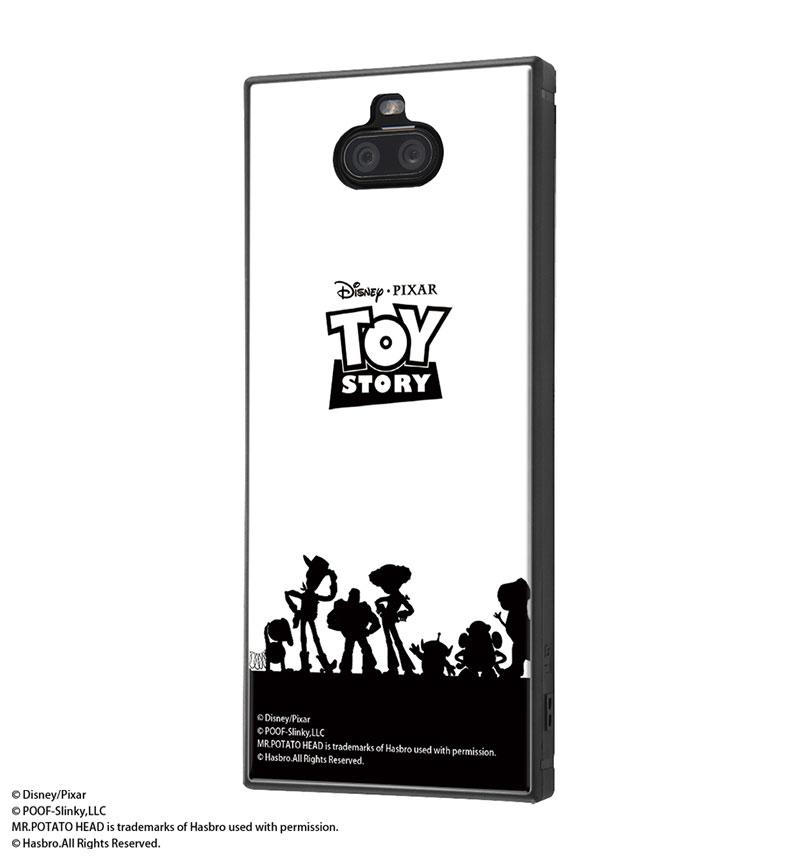 Xperia 8 /『ディズニー・ピクサーキャラクター』/耐衝撃ハイブリッドケース KAKU 『トイ・ストーリー/シルエット』 IQ-DXP8K3TB/TY022