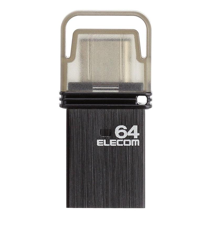 USB Type-Cメモリ(ブラック) ブラック/容量64GB MF-CAU3164GBK