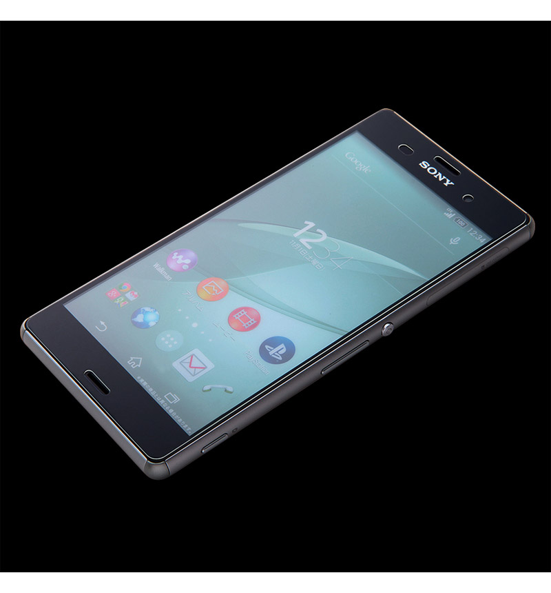 Xperia Z3用 9Hさらさらタッチ反射 指紋防止ガラスフィルム RT-SO01GF/HG