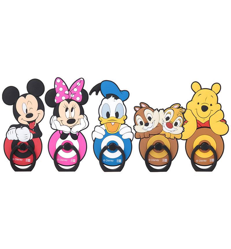 ディズニーキャラクター/スマートフォン用リング 『ドナルドダック/スタンダード』_01 IS-DSBKR/DD001