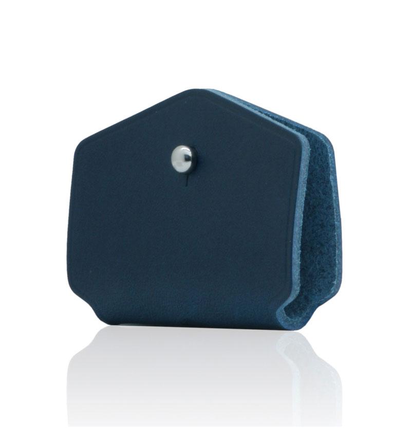 Italian Buttero Leather Cord Station ブルー 2個セット ブルー SD11519