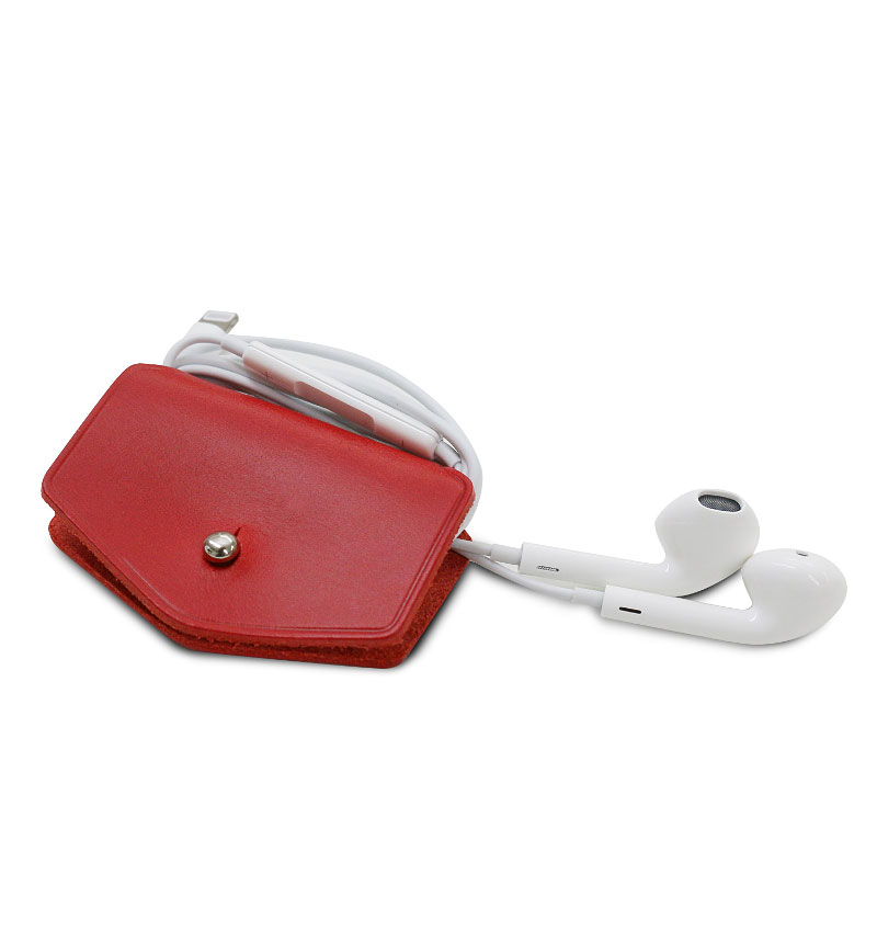 Italian Buttero Leather Cord Station レッド 2個セット レッド SD11520
