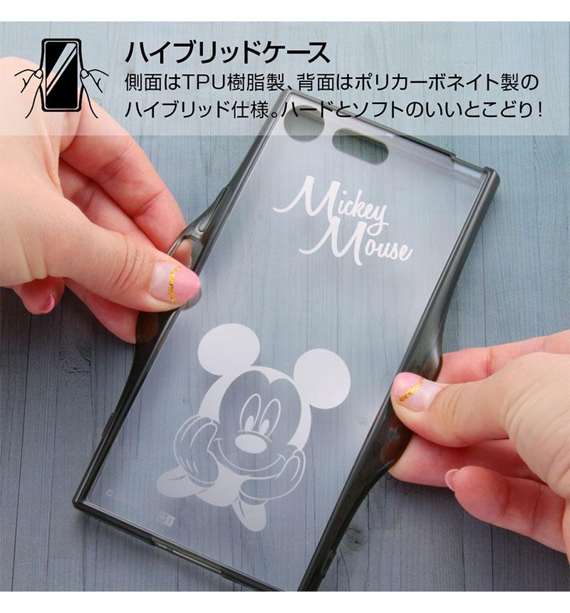 Xperia XZ Premium ディズニーキャラクター/ハイブリッドケース ミニー IN-RDXZPU/MN
