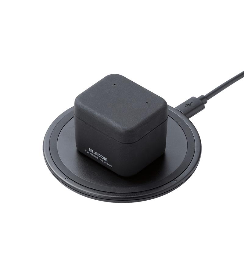 Qi充電対応Bluetooth(R)完全ワイヤレスステレオヘッドホン ブラック LBT-TWS03QBK