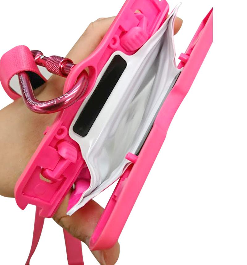 浮く防水・防塵ケース「FLOAT SAVER」 6インチ ピンク LP-SM60WP01PK