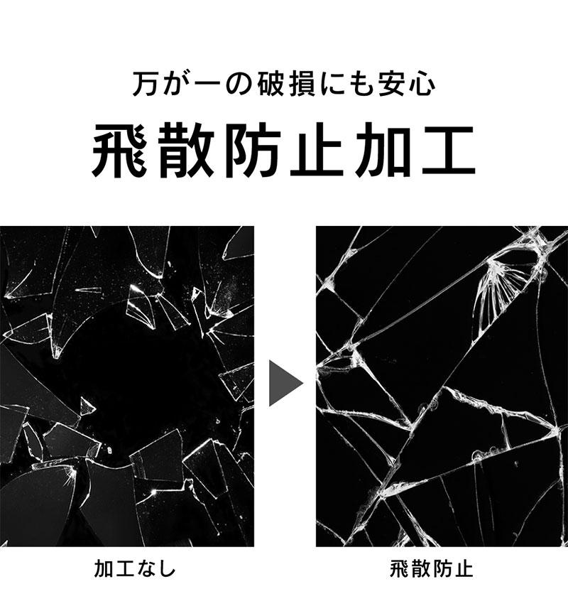 Xperia 5 II 気泡ゼロ 反射防止 立体成型シームレスガラス ブラック ブラック TR-XP206-GHF-AGBK