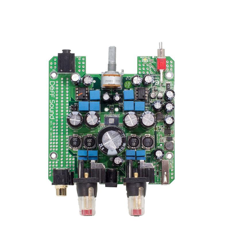 パワーアンプ シルバー DDA-AMP1