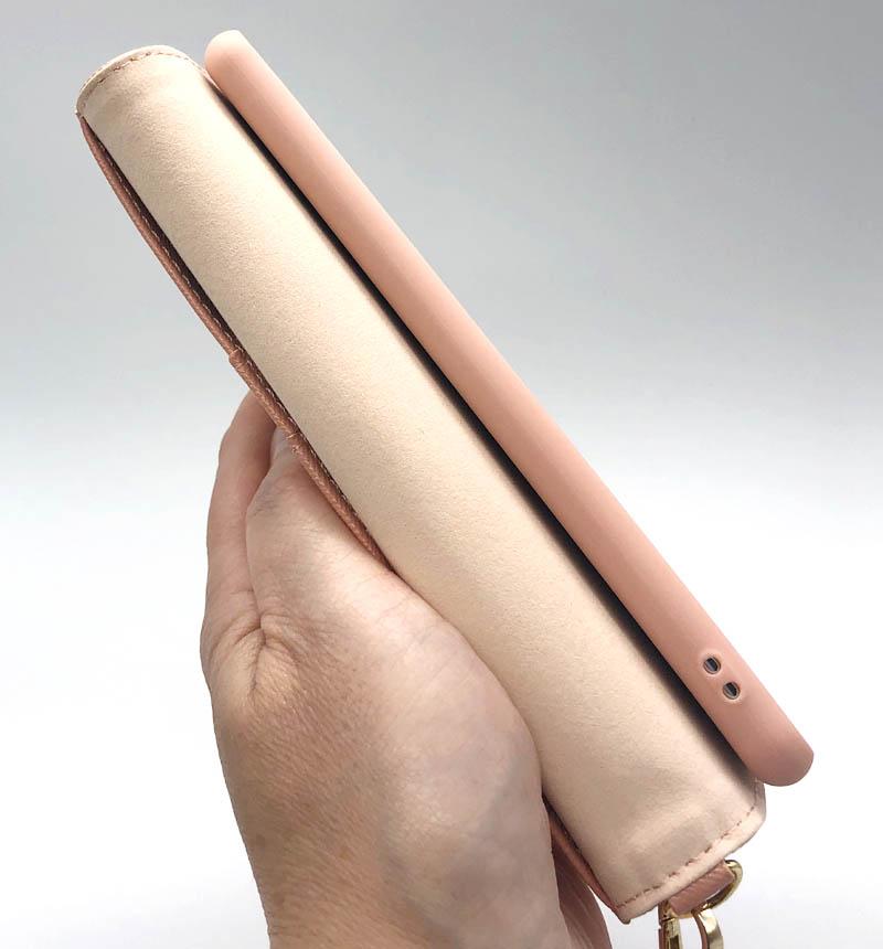 Xperia 5 II Viviana サフィアーノ手帳型ケース ピンク 5888XP52BO