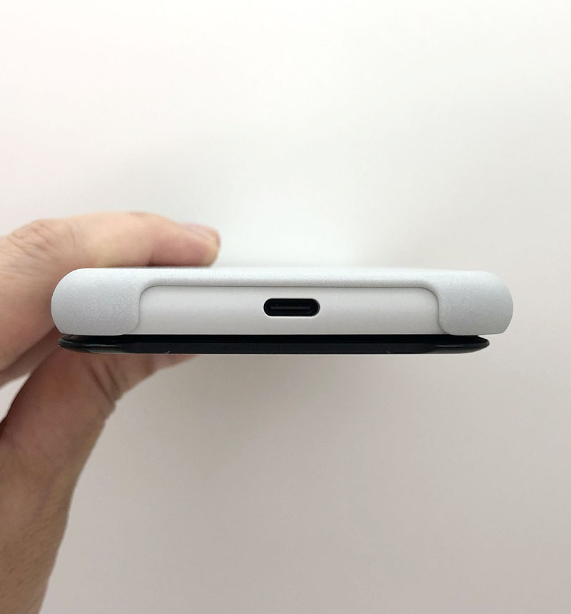 Xperia 10 II Style Cover View グレー XQZ-CVAU/HJPCX