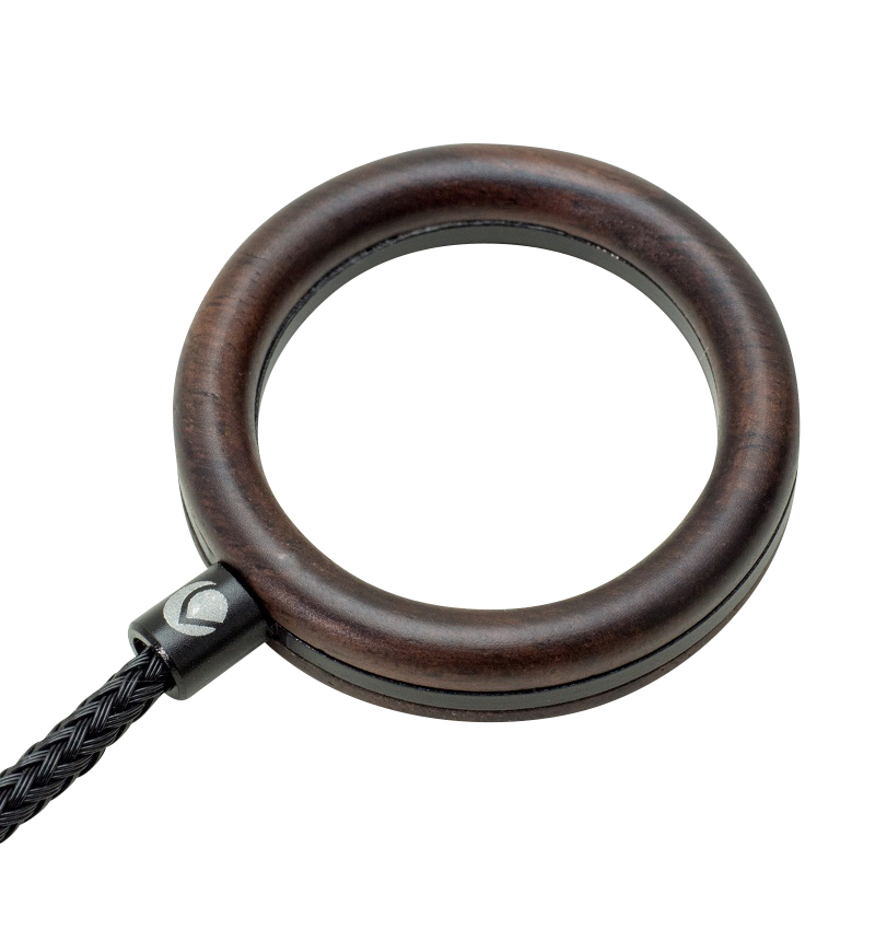 Finger Ring Strap Aluminum Combination エボニー/ブラック DFR-WD04EBK