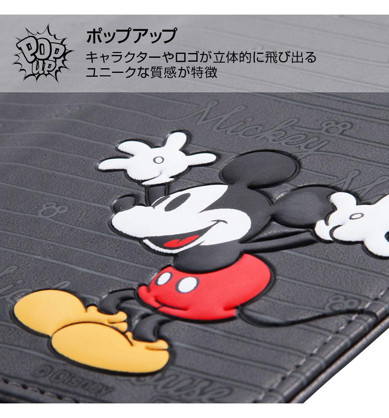 Xperia XZ2 ディズニー手帳 スタンディング カーシヴ ミッキー RT-RDXZ2T/MK