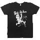 BOB DYLAN × 浦沢直樹イラストTシャツ(スミクロ)