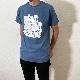BOB DYLAN × 浦沢直樹 コラボTシャツ(インディゴブルー)