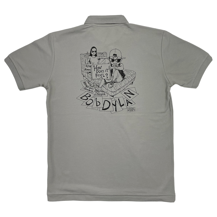 BOB DYLAN × 浦沢直樹 ポロシャツ