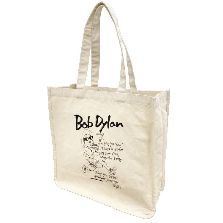 BOB DYLAN × 浦沢直樹キャンバストートバッグ