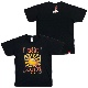 CHERRY SUN BURST GUITAR Tシャツ(ブラック)