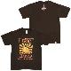 CHERRY SUN BURST GUITAR Tシャツ(ブラウン)