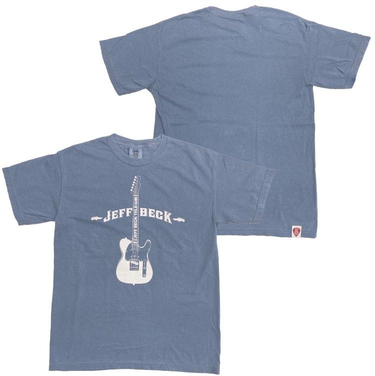 ギターTシャツ(ヴィンテージ/ブルー)