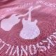 クロスギターTシャツ(ヴィンテージ/レッド)
