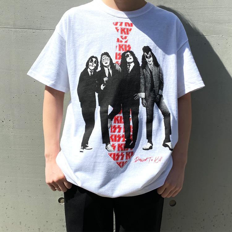 DRESSED TO KILL Tシャツ(ホワイト)