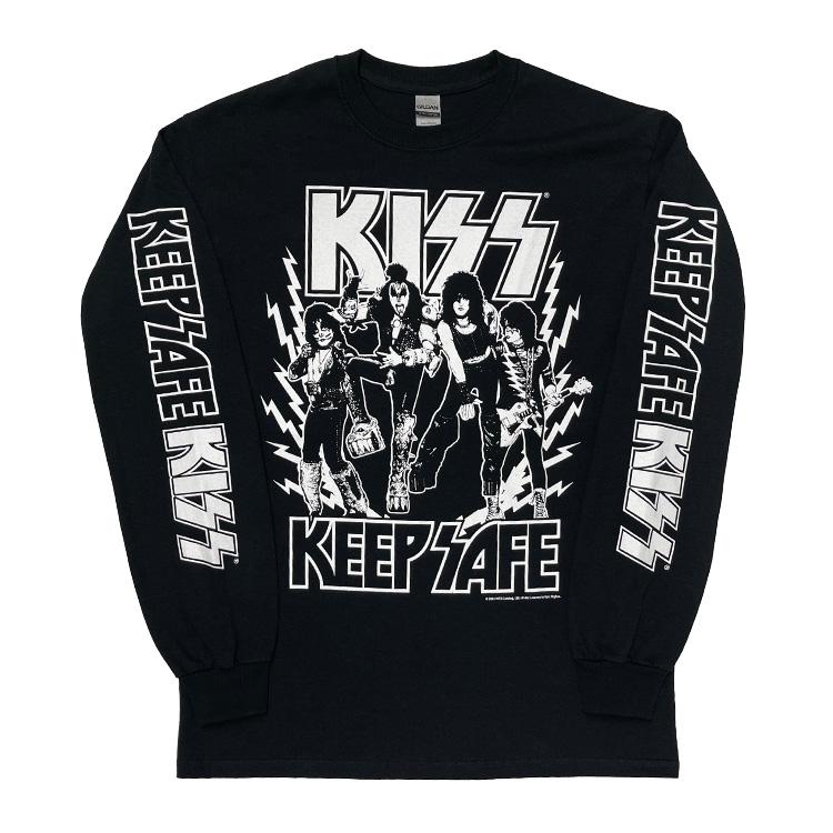 KEEP SAFE ロングスリーブTシャツ