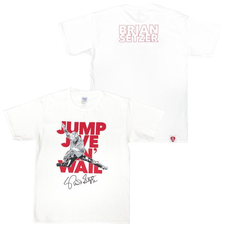 JUMP JIVE AN' WAIL Tシャツ(ホワイト)