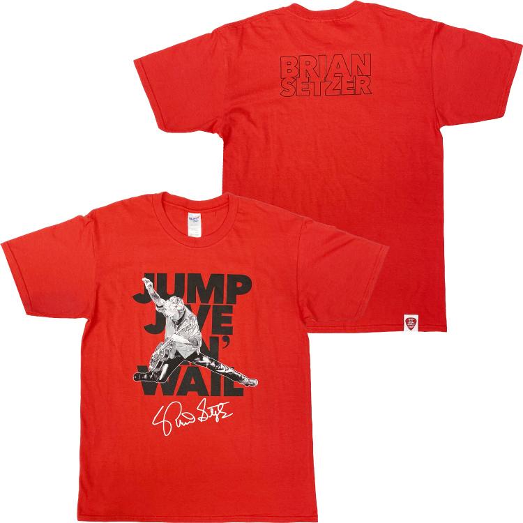 JUMP JIVE AN' WAIL Tシャツ(レッド)
