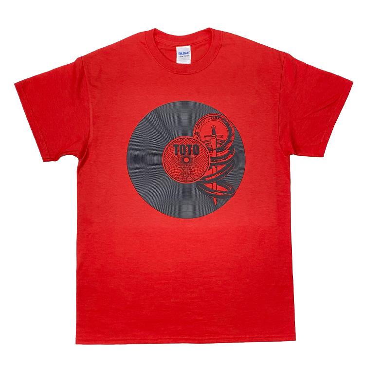 レコードTシャツ『TOTO IV〜 聖なる剣〜』