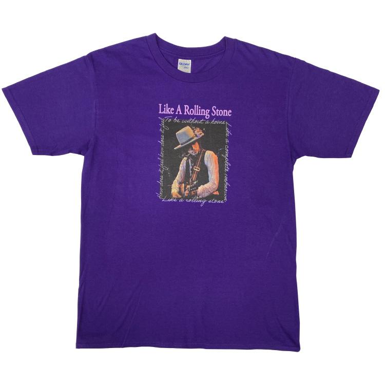 LIKE A ROLLING STONE Tシャツ(パープル)