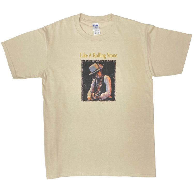 LIKE A ROLLING STONE Tシャツ(サンド)