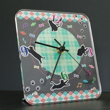 アクリル卓上時計[レギュラー] ◆化粧箱入