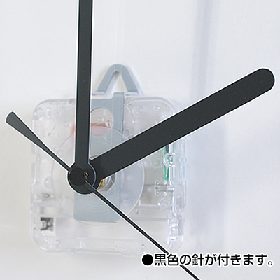 アクリル掛け時計 ◆化粧箱入