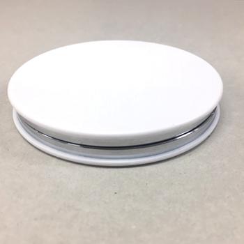 ホワイトダブルミラー 丸・四角 【お問い合わせにて対応】