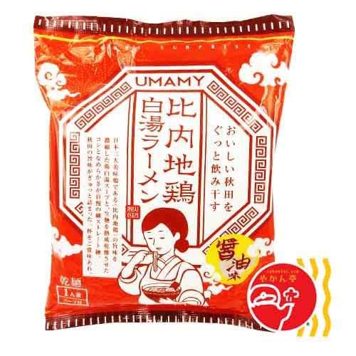 秋田 比内地鶏 白湯ラーメン 醤油
