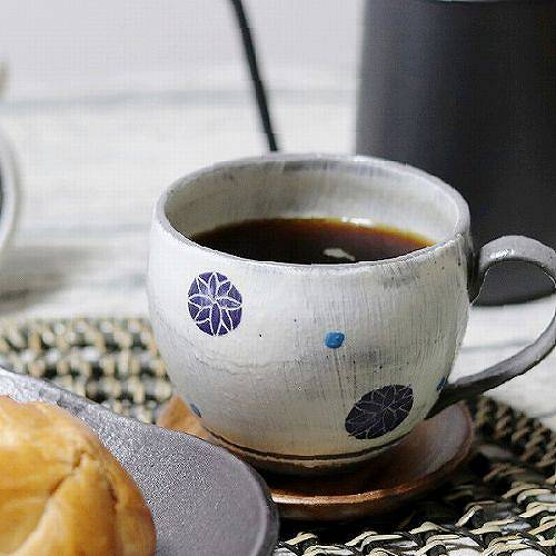 てまり(黒) マグカップ