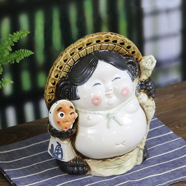 信楽焼 狸 信楽焼たぬき タヌキ 陶器タヌキ たぬき置物 やきもの しがらきやき 焼き物 狸 タヌキ