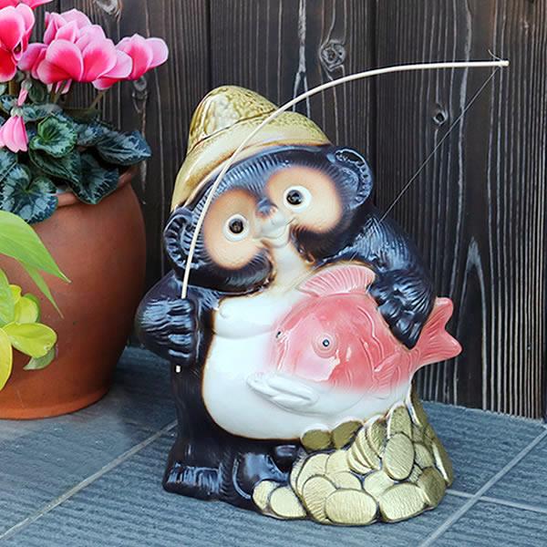 狸 陶器タヌキ 狸 しがらき