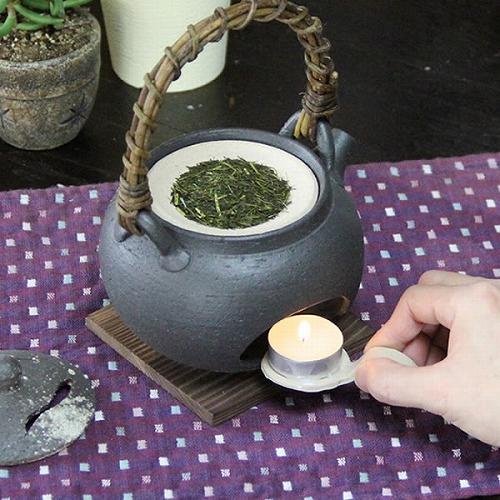 土瓶型茶香炉 信楽焼き茶香炉[ty-0003]