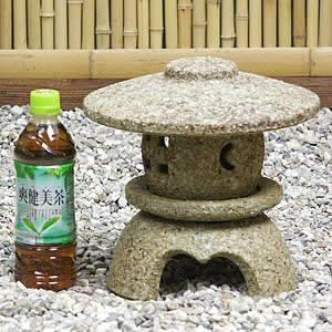 8号古丸雪見灯籠(とうろう) 信楽焼燈籠[ok-0062]