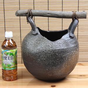 いちじく花入れ 信楽焼き 花瓶[ha-0175]